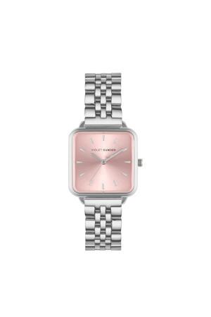 horloge The Dawn VH03002 rose/zilverkleurig