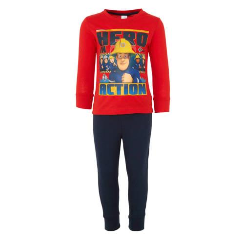 C&A Palomino Brandweerman Sam pyjama rood-blauw