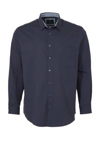 XL Canda regular fit overhemd zwart
