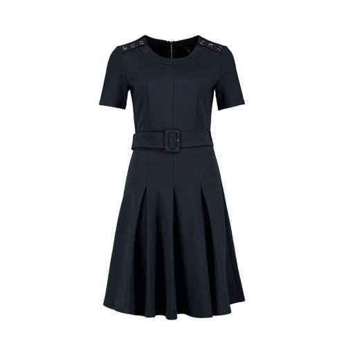 Claudia Sträter jurk marineblauw