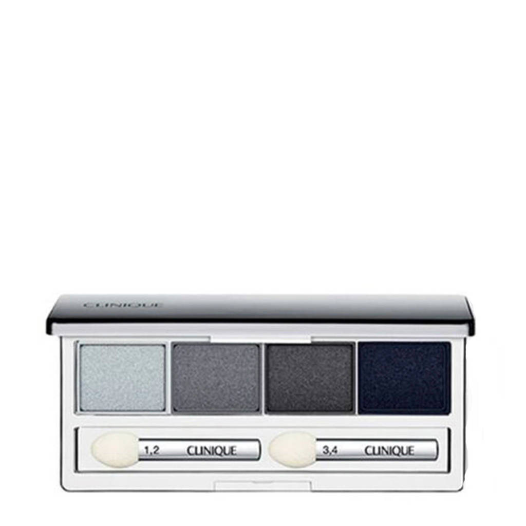 Clinique All About Shadow Eyeshadow Quad oogschaduw - 09 Smoke And Mirrors, 09 Smoke and Mirrors