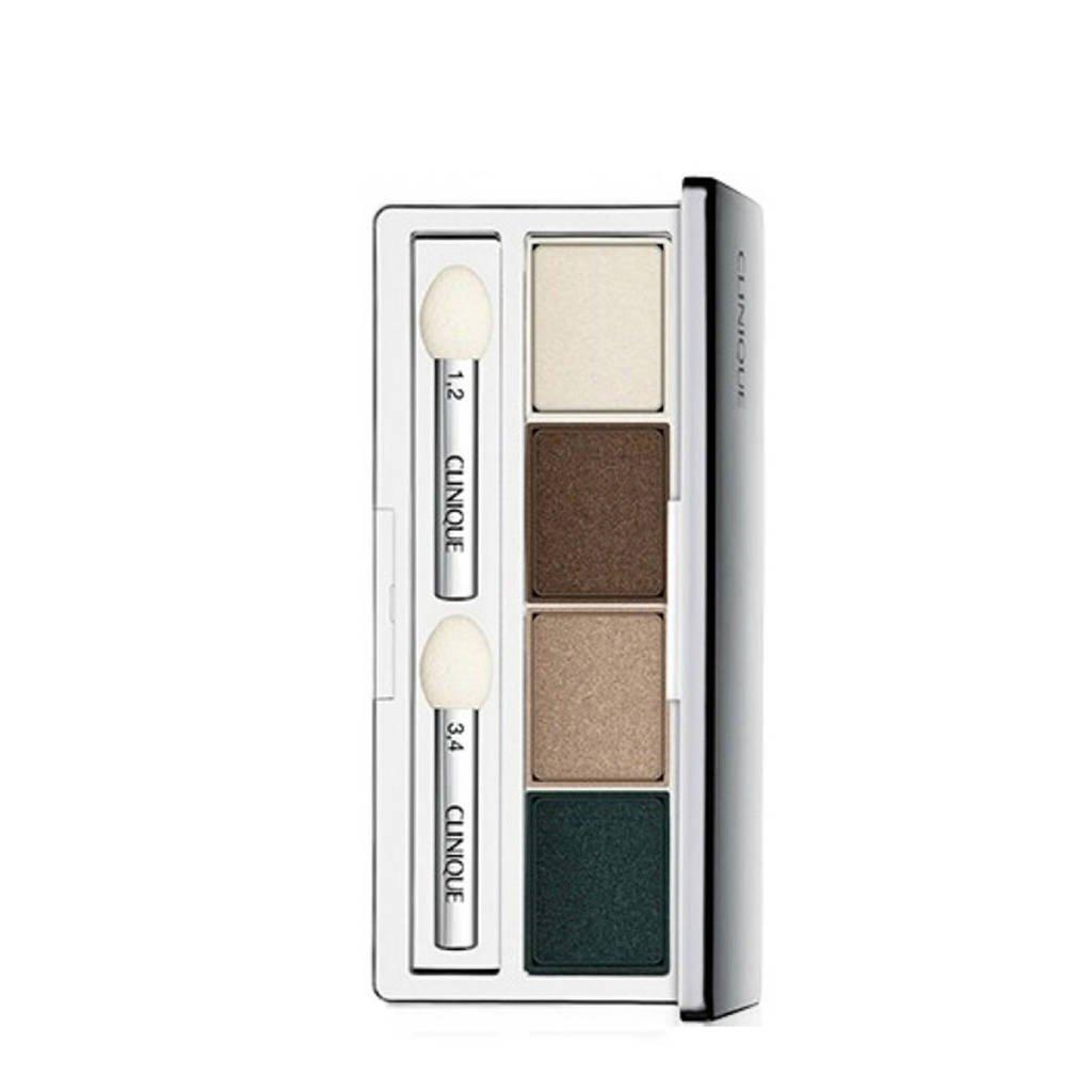 Clinique All About Shadow Eyeshadow Quad oogschaduw - 14 Skinny Dip