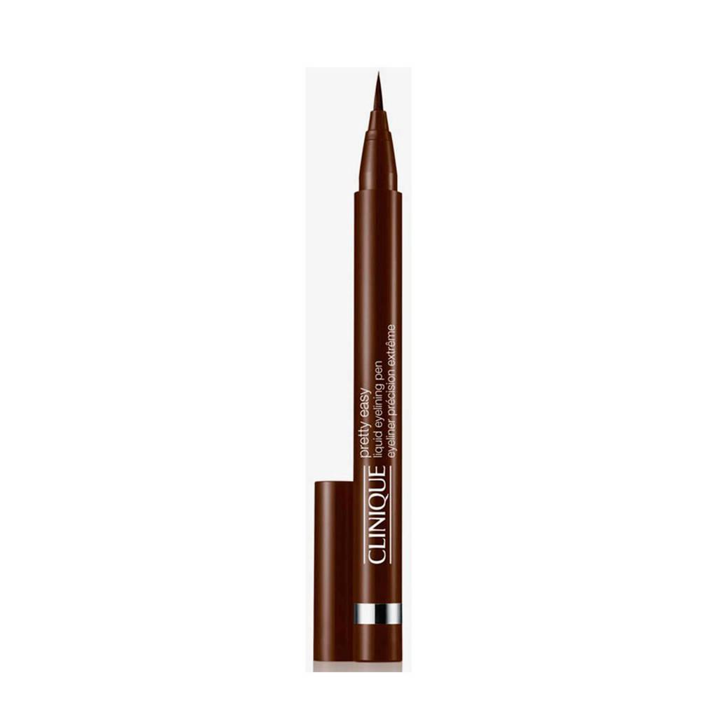 Clinique Pretty Easy Liquid Pen eyeliner - 002 Brown