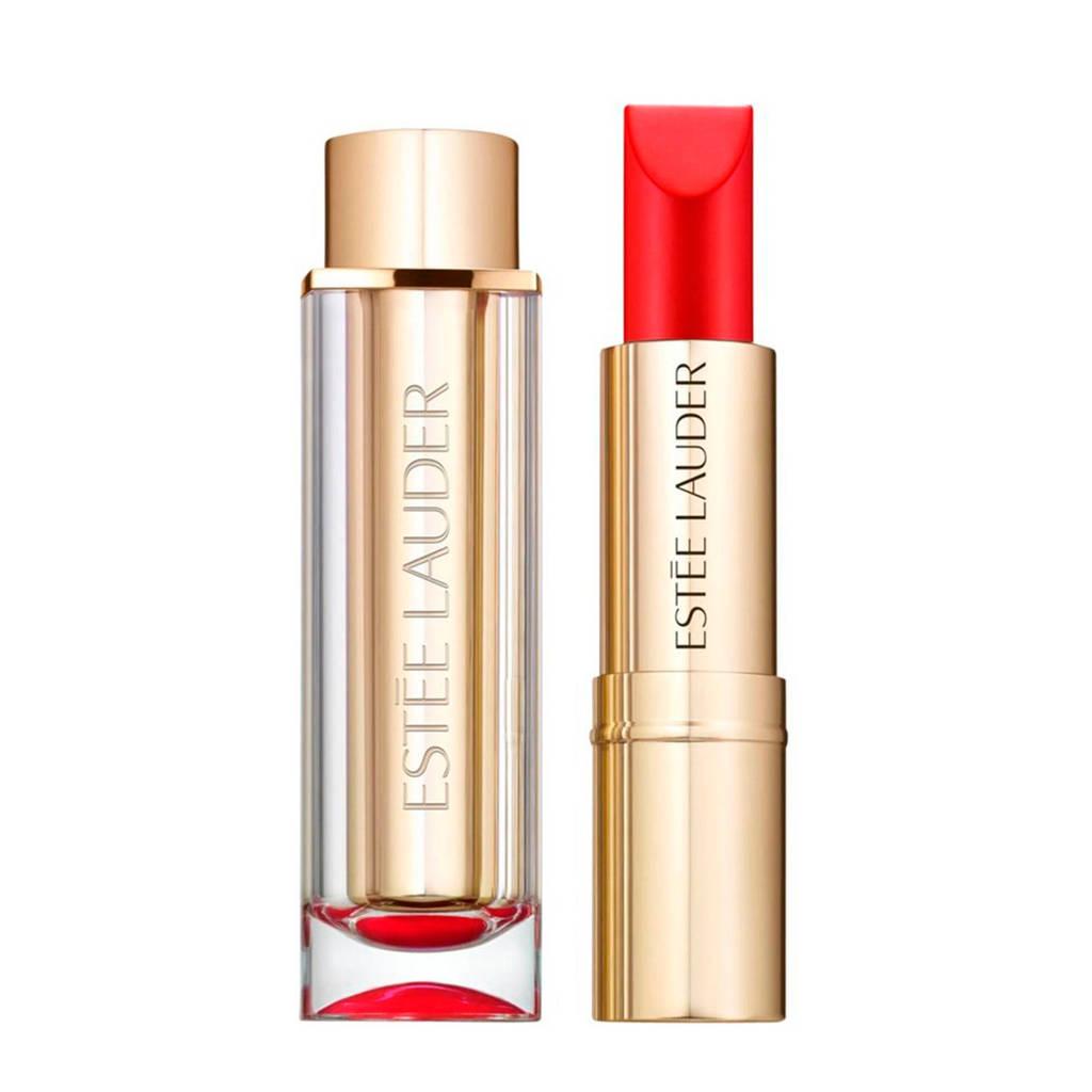 Estée Lauder Pure Color Love Matte lippenstift - 220 Shock  Awe