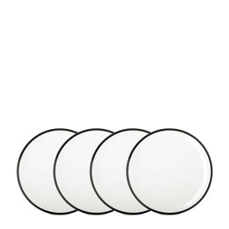 Flow ontbijtbord (Ø23 cm) (set van 4)