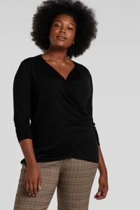 Lauren Ralph Lauren top zwart, Zwart