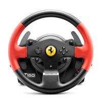 Thrustmaster T150 Ferrari Wheel Force Feedback PC/PS3/PS4, Zwart, Rood