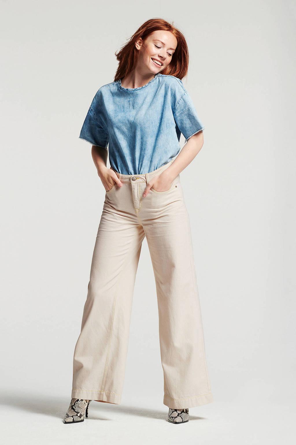 Didi loose fit jeans, Ecru
