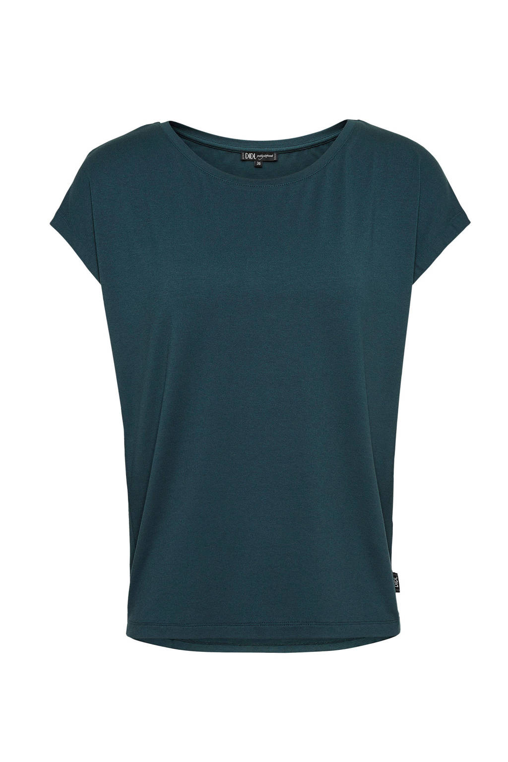 Didi T-shirt donkergroen, Donkergroen