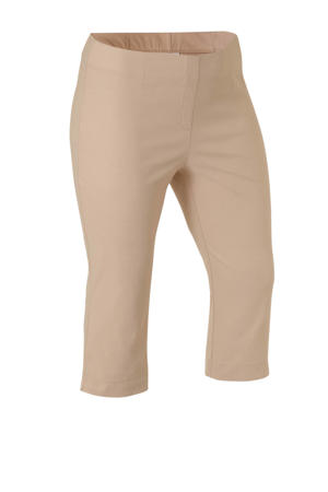 XL Yessica high waist slim fit bermuda beige
