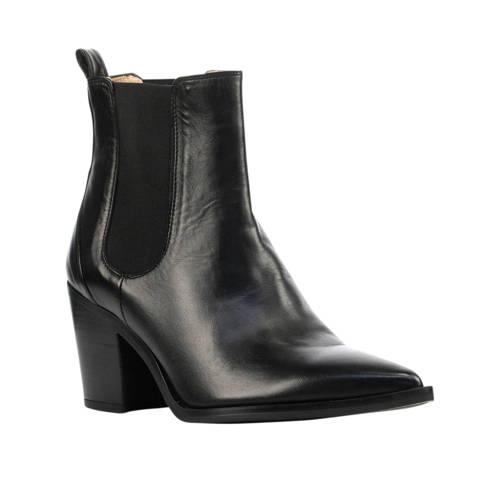 Unisa Manilla leren chelsea boots zwart
