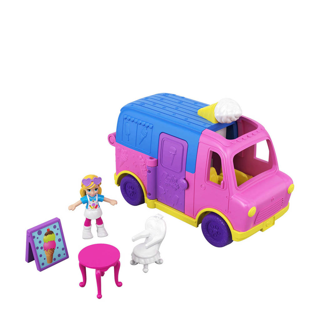 Polly Pocket  Pollyville Vehicles ijscowagen