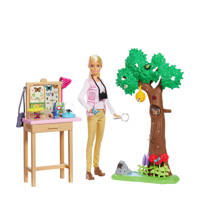 Barbie National Geographic Vlinderwetenschapper speelset