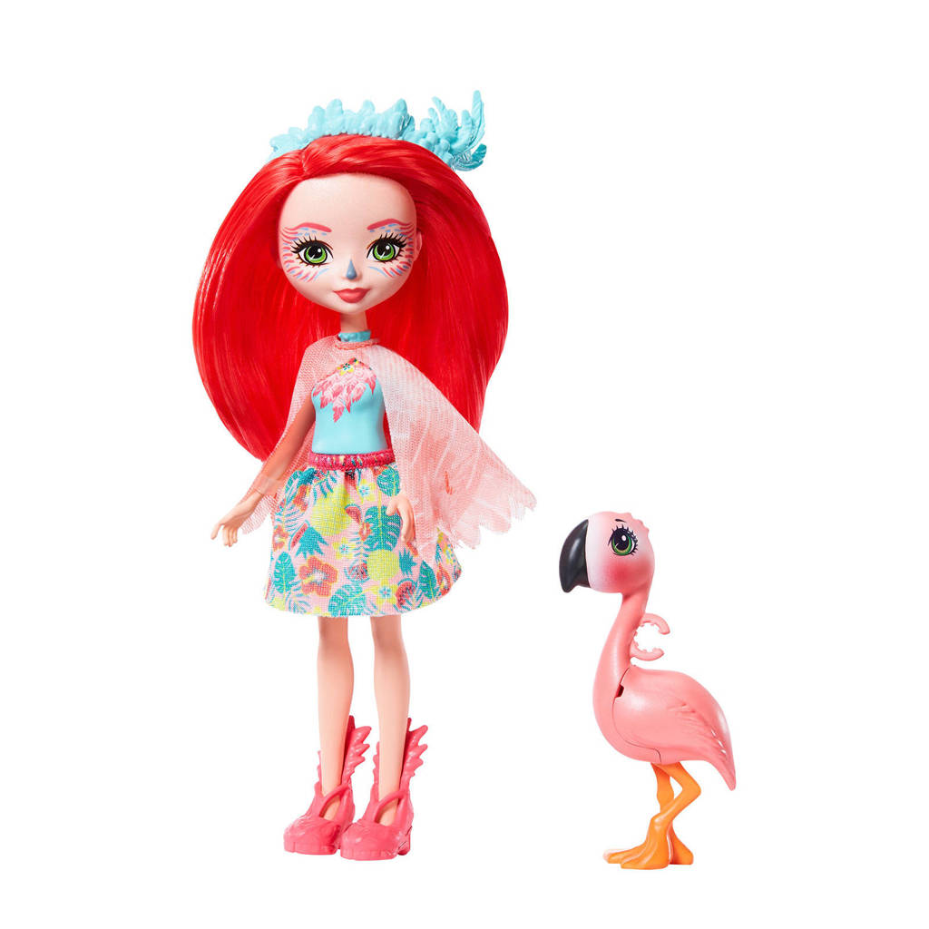 Enchantimals Fanci Flamingo & Swash handpop