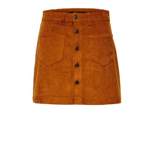 ONLY corduroy rok Amazing bruin