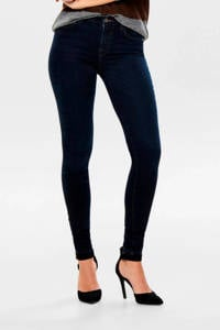 ONLY skinny jeans ONLISA donkerblauw, Donkerblauw