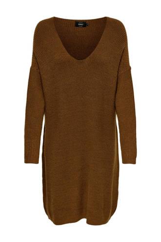 jurk bruin