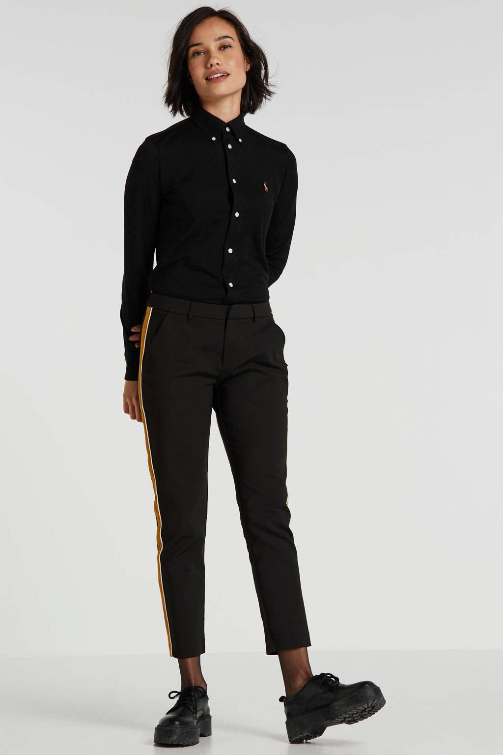 POLO Ralph Lauren blouse zwart, Zwart