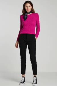 POLO Ralph Lauren slim fit broek zwart, Zwart
