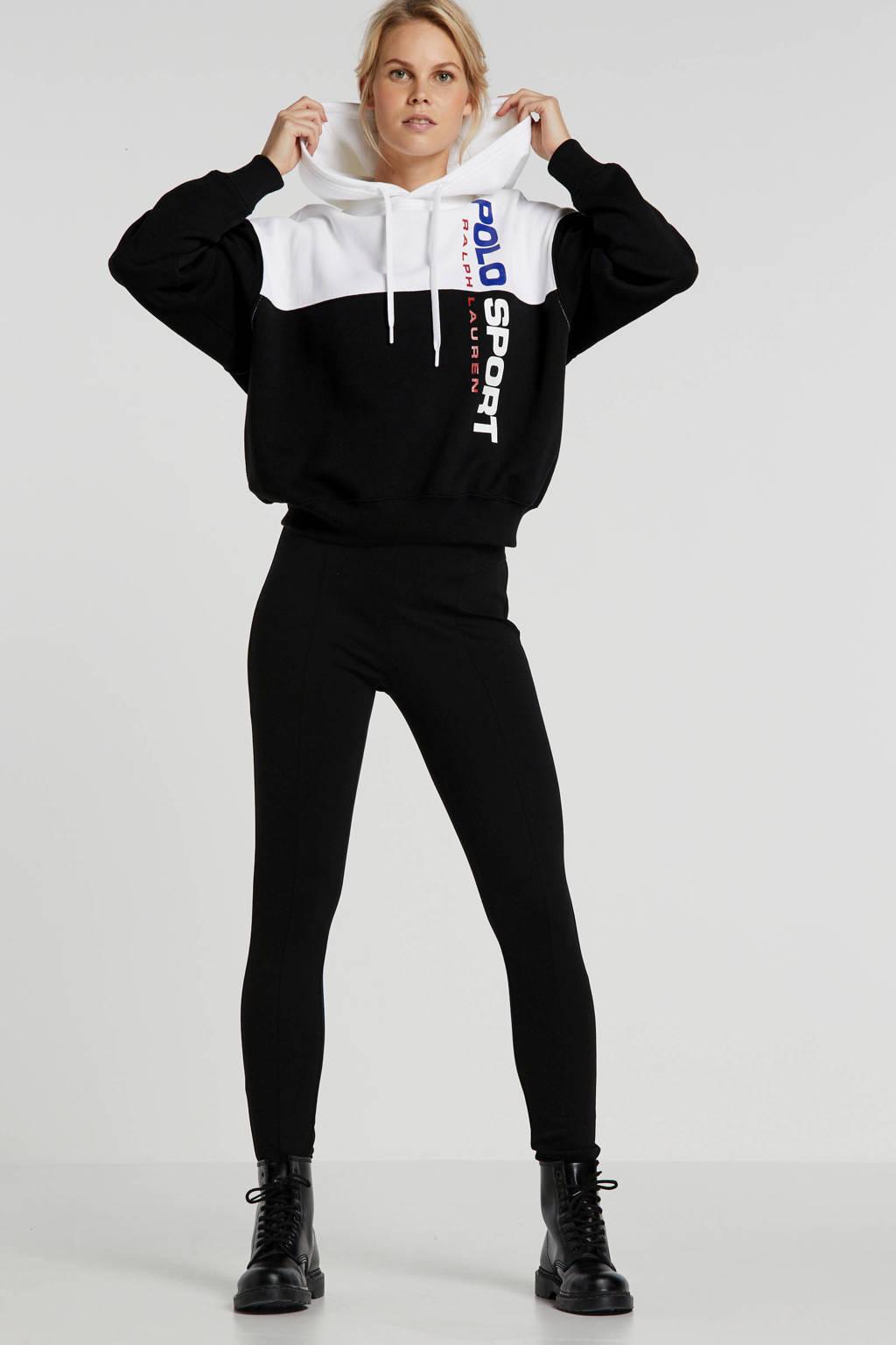 POLO Ralph Lauren hoodie zwart/wit, Zwart/wit