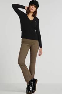 POLO Ralph Lauren trui met wol en logo zwart, Zwart