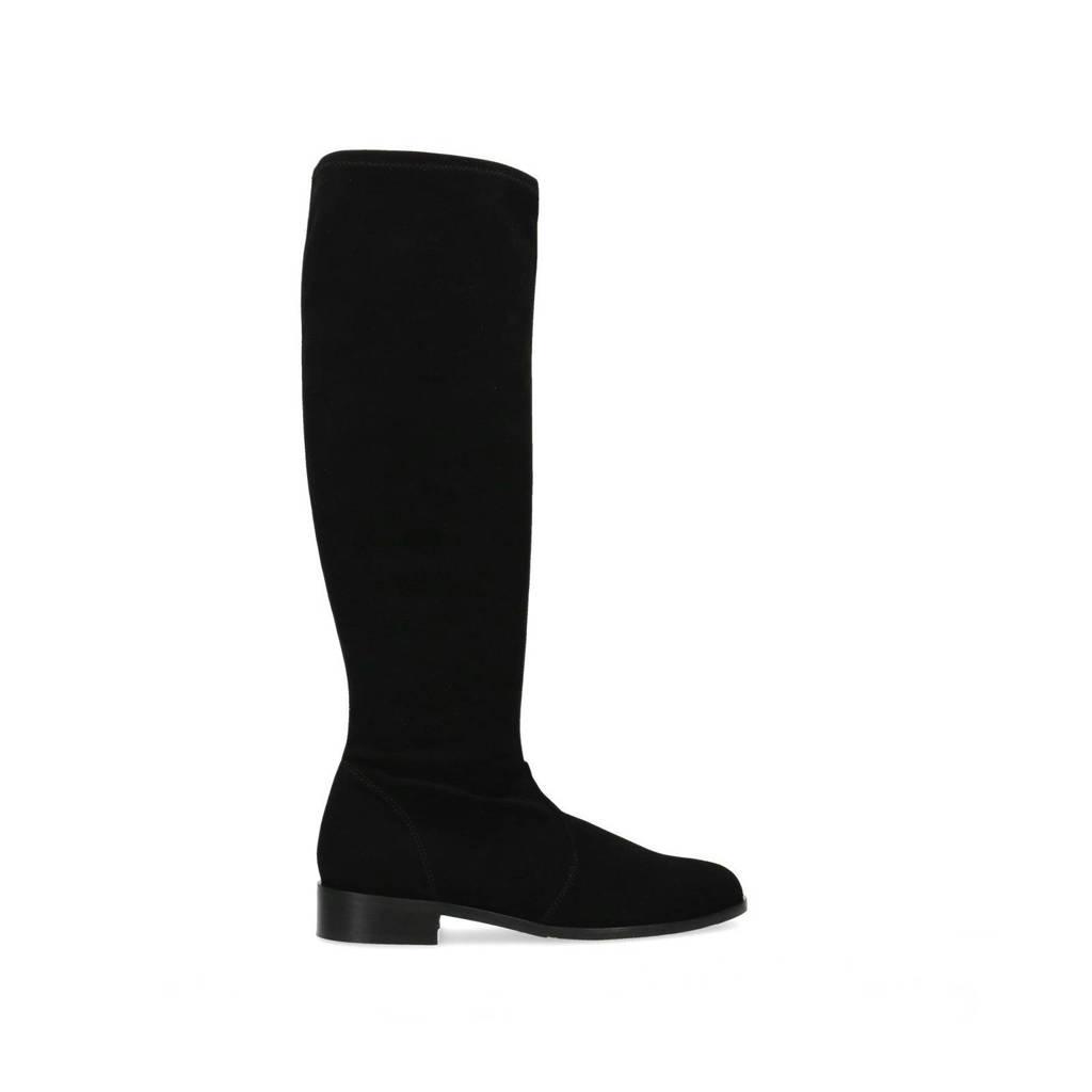 Manfield   laarzen zwart, Zwart