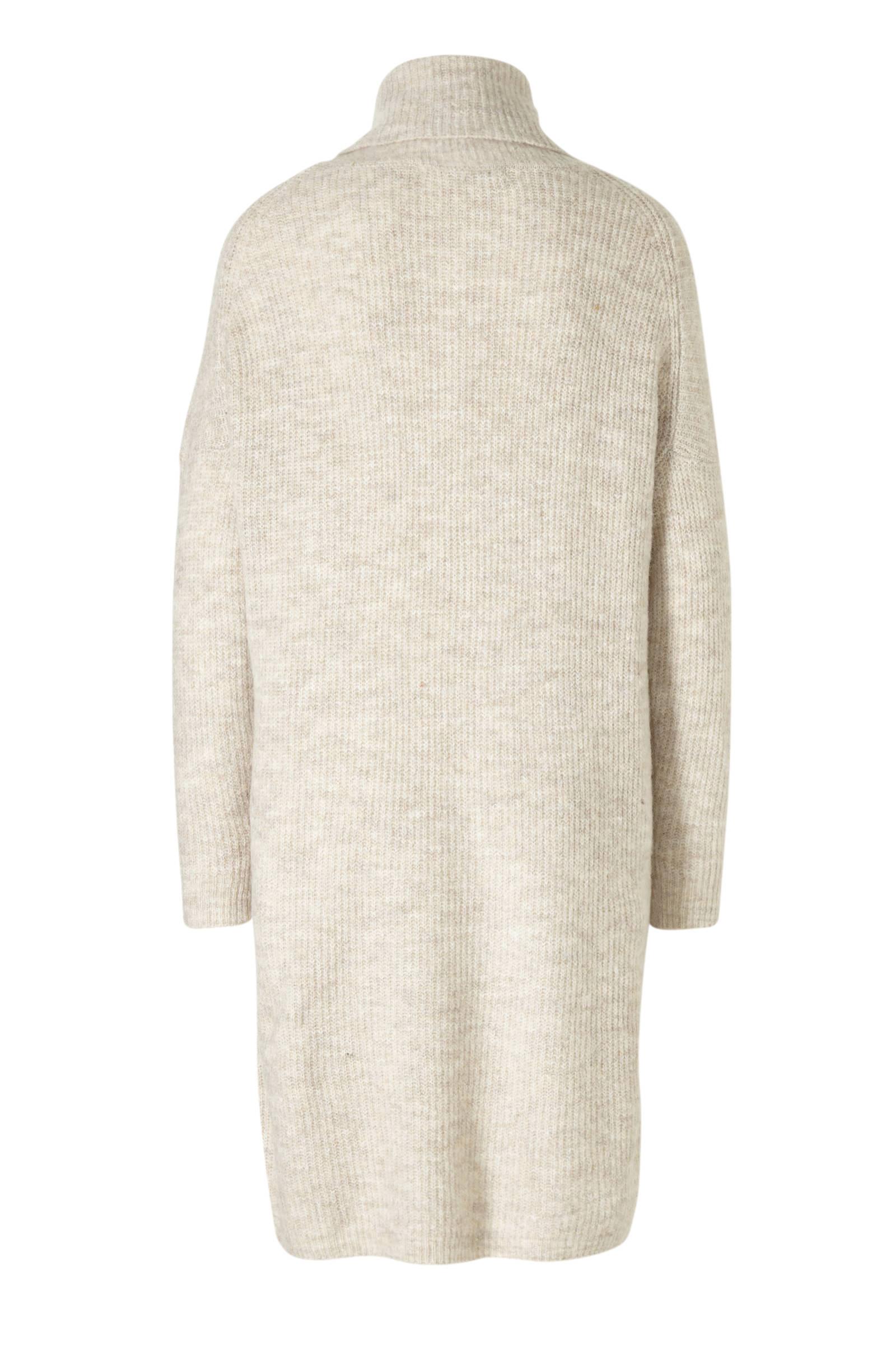 Verwonderlijk ONLY grofgebreide jurk beige   wehkamp LH-27