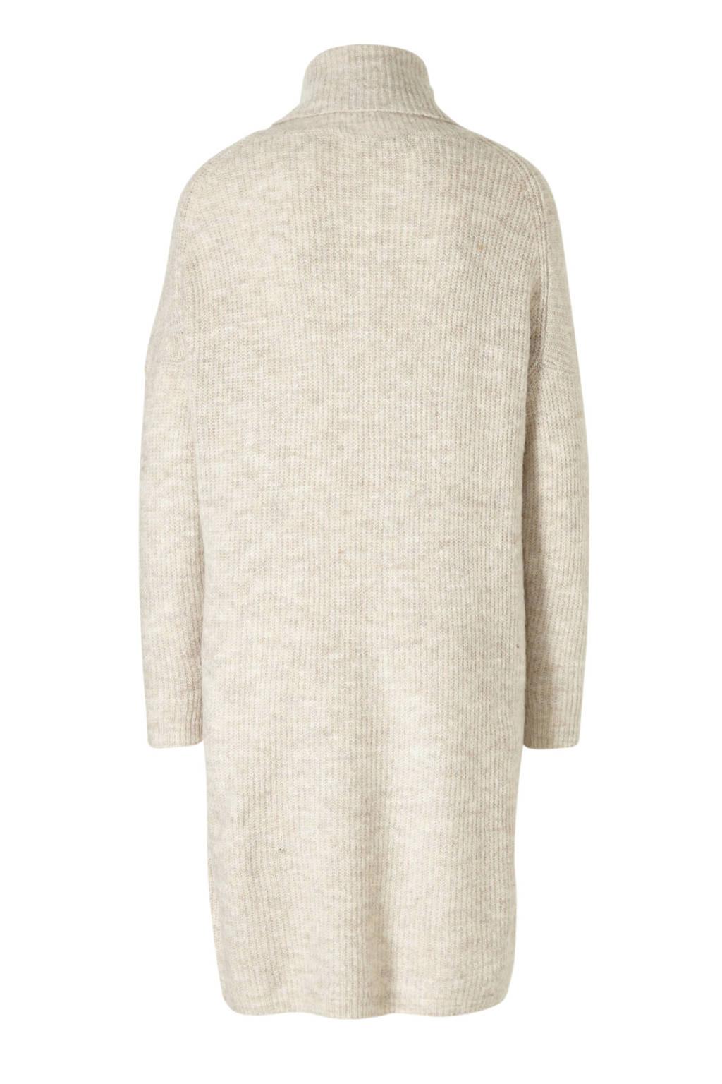 Hedendaags ONLY grofgebreide jurk beige   wehkamp SM-95