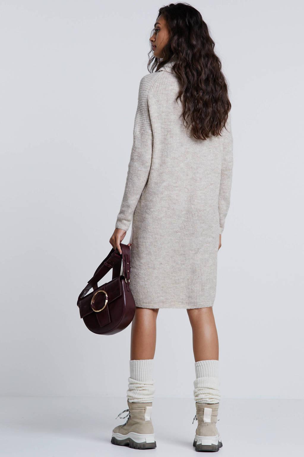 Verbazingwekkend ONLY grofgebreide jurk beige   wehkamp ND-75