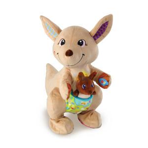 Spring & Speel Kangoeroe interactieve knuffel