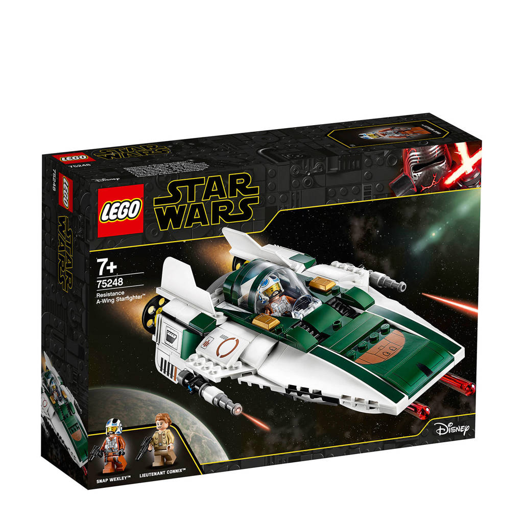 LEGO Star Wars Resistance A Wing Starfighter 75248