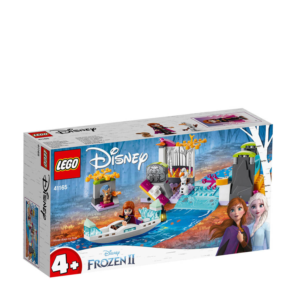 LEGO 4+ Disney Frozen II Anna's Kano-expeditie 41165