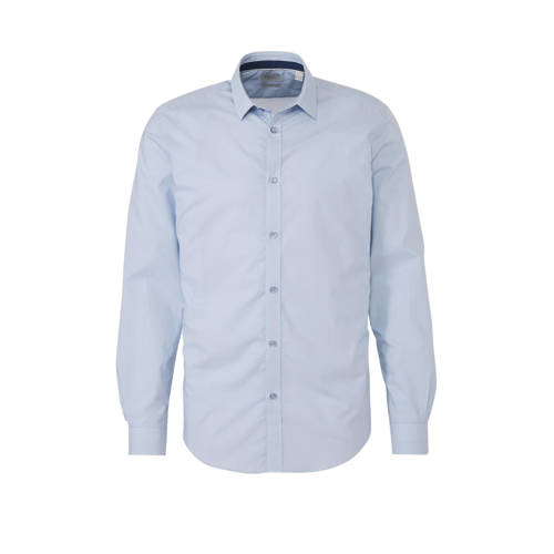 ESPRIT Men Collection slim fit overhemd met all ov