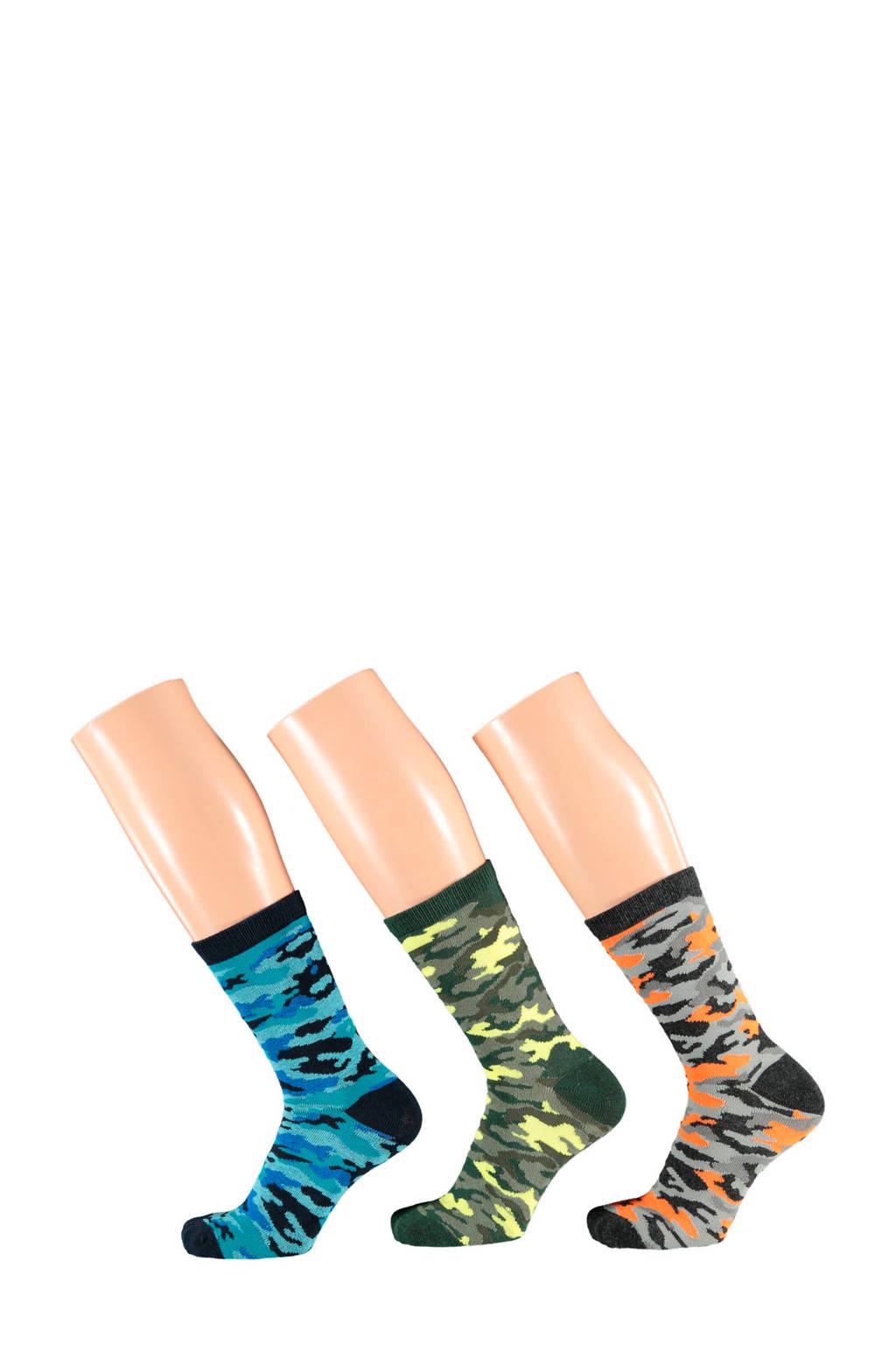 Apollo sokken set v an 3 paar, Multicolor