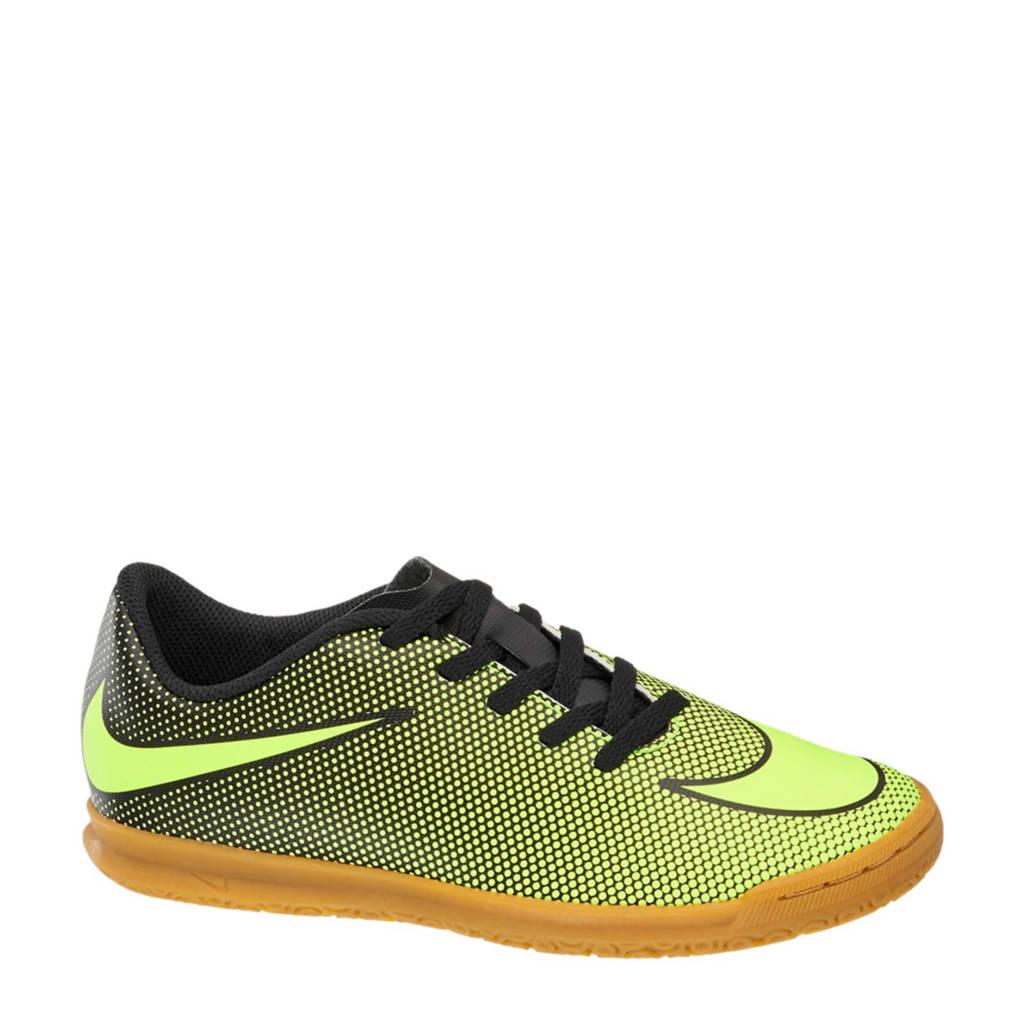 Nike Bravata  zaalvoetbalschoenen geel/zwart, Geel/zwart