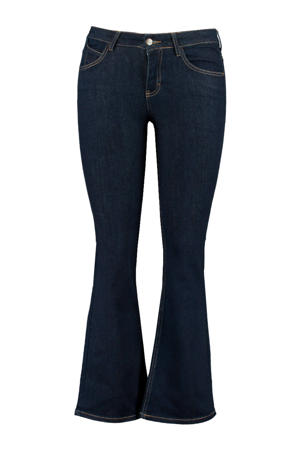 flared jeans dark denim