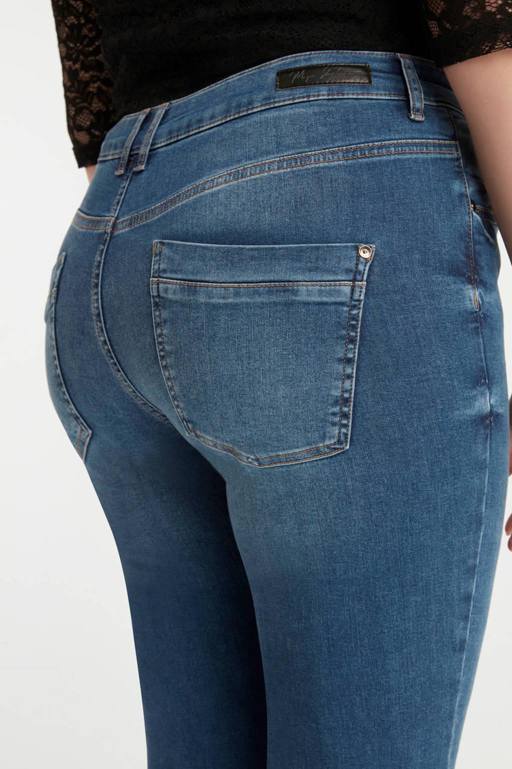 MS Mode high waist flared jeans, Stonewash Denim