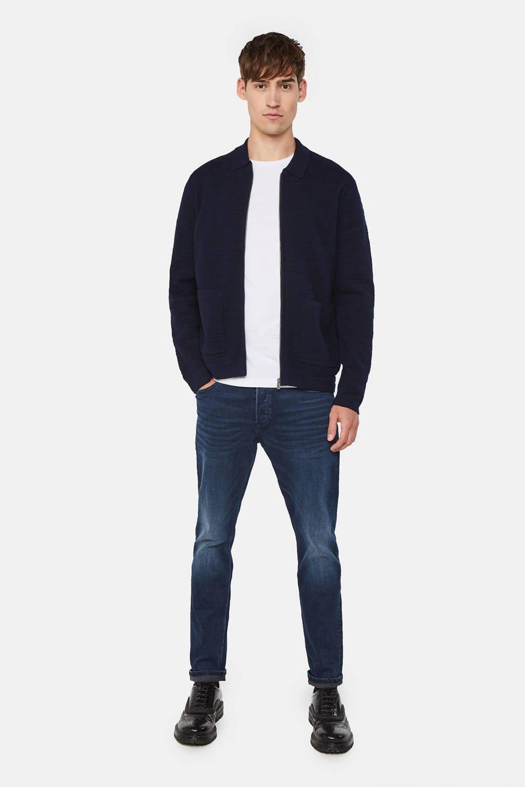 WE Fashion Blue Ridge skinny jeans blue black denim
