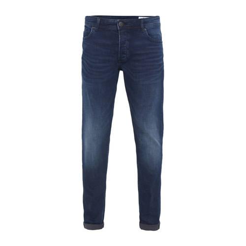 WE Fashion Blue Ridge skinny jeans blue black deni