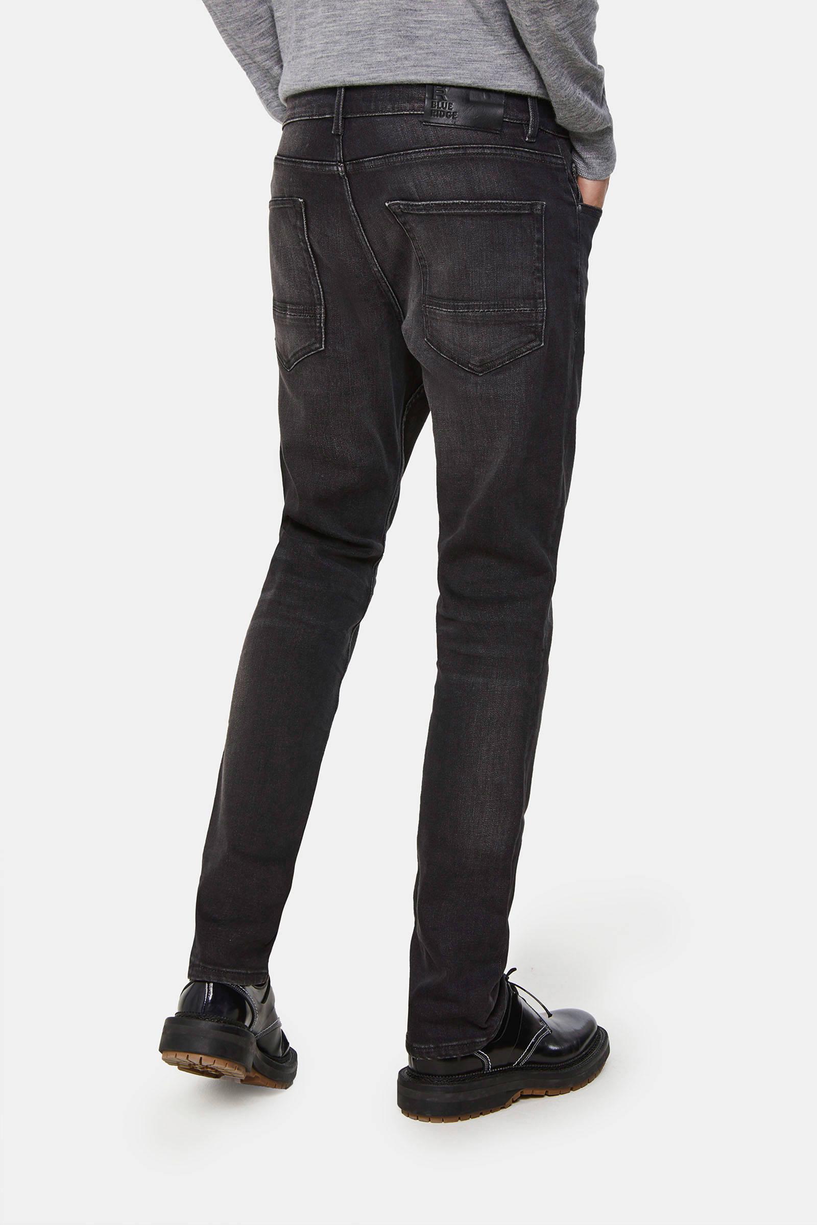 WE Fashion Blue Ridge slim fit jeans Blue ridge black jog
