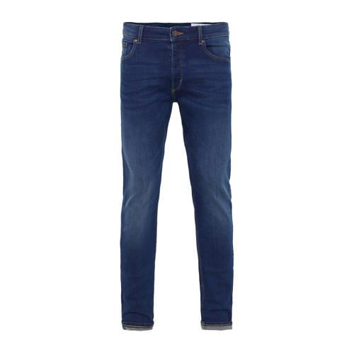 WE Fashion Blue Ridge skinny tapered fit jeans Blu