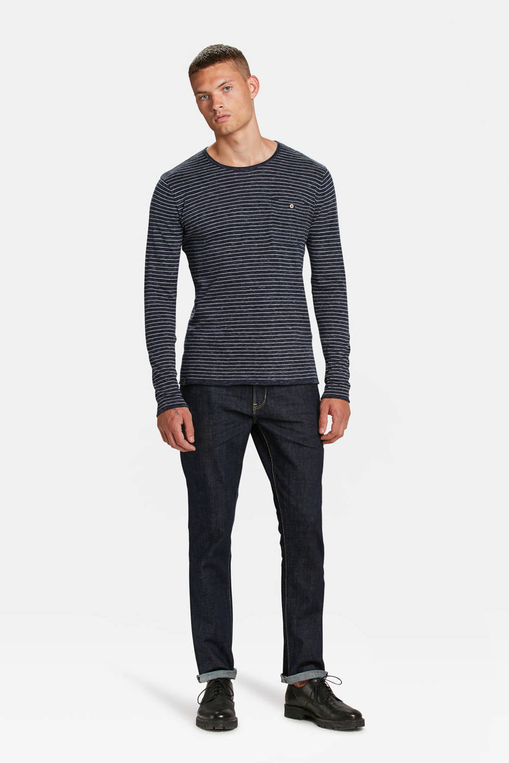 WE Fashion Blue Ridge slim fit jeans Blue ridge dark denim, Dark denim