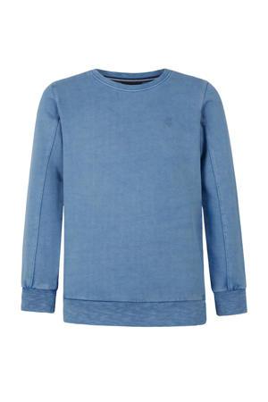 sweater met tekst blauw