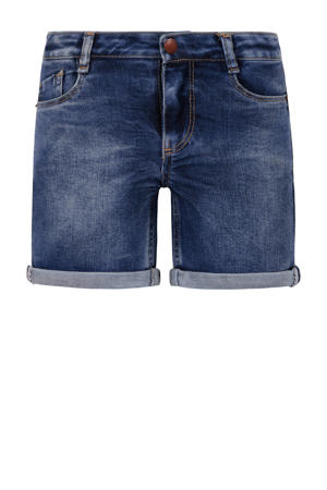 short dark denim