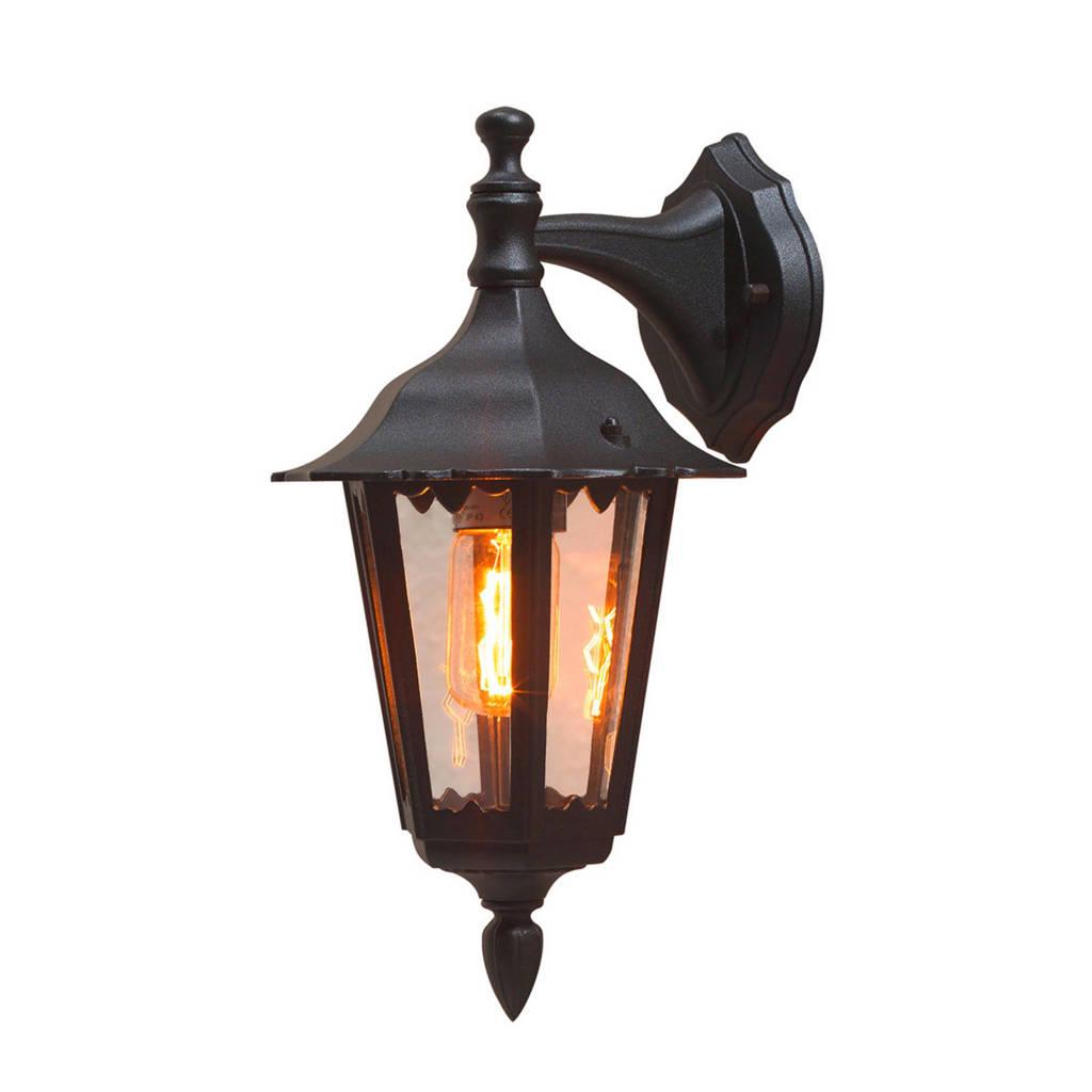 Konstsmide wandlamp Firenze, Matzwart