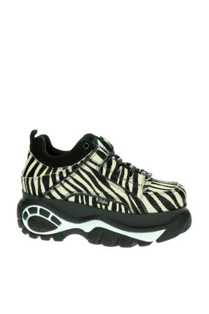 chunky dad sneakers zebraprint