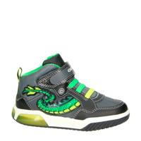 Geox  Inek sneakers grijs/groen, Grijs/groen