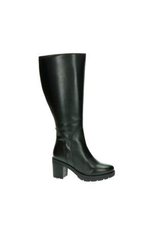 Bredon XL-schacht leren laarzen zwart