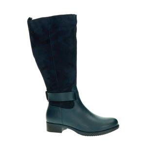 Bayston XL-schacht suède laarzen donkerblauw