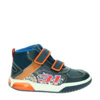Geox Inek  halfhoge sneakers blauw/multi, Blauw/multi